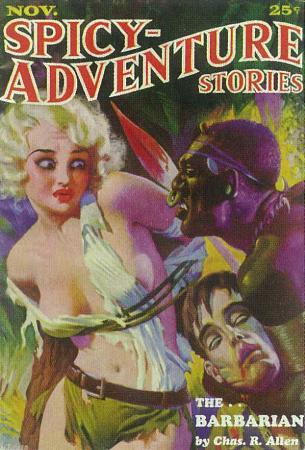 Spicy Adventure Stories - Pulp Poster, 1937