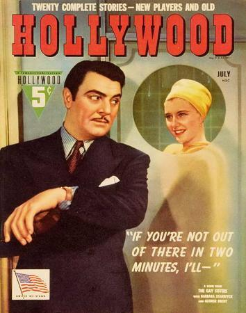 Barbara Stanwyck - HollywoodMagazineCover1940's