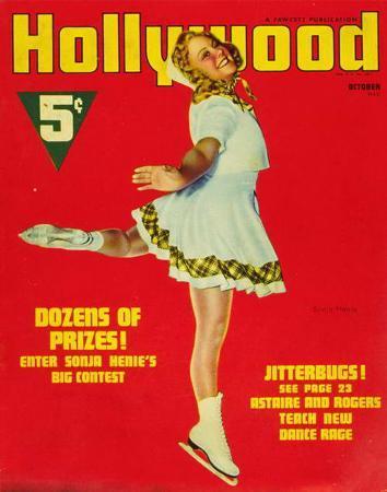 Sonja Henie - HollywoodMagazineCover1940's
