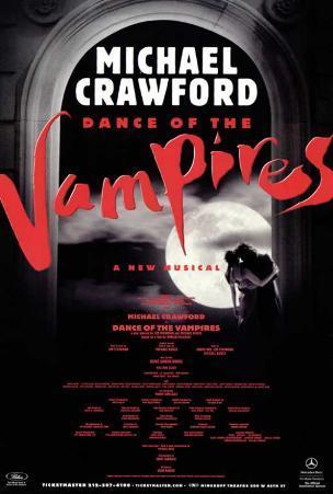 Dance of the Vampires - Broadway Poster , 2002
