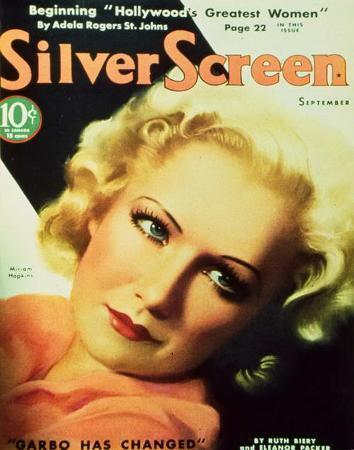 Miriam Hopkins - SilverScreenMagazineCover1940's