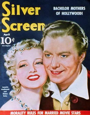 MacDonald, Jeanette - SilverScreenMagazineCover1940's