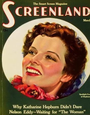 Hepburn, Katharine - ScreenlandMagazineCover1930's
