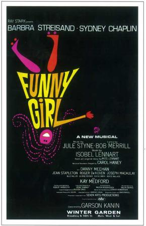 Funny Girl - Broadway Poster, 1964