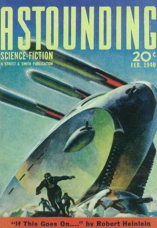 Astounding Stories - Pulp Poster, 1931