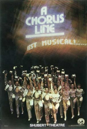 A Chorus Line - Broadway Poster , 1975