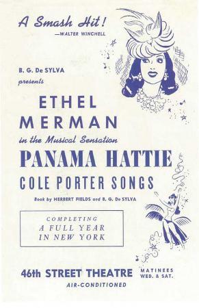 Panama Hattie - Broadway Poster , 1940