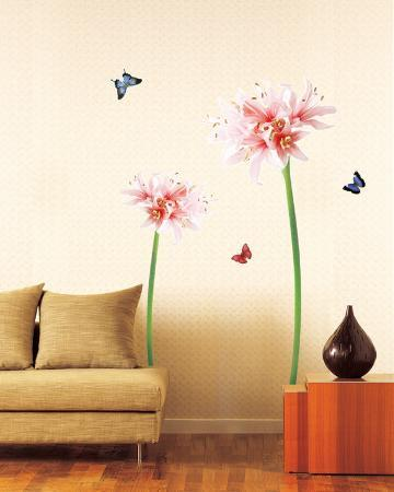 Giant Flower Sprouts and Butterflies