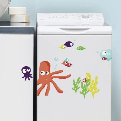 Octopus (Water Resistant Decal)