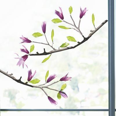 Magnolia Window Decal Sticker