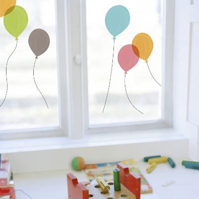 Balloons Window Decal Sticker
