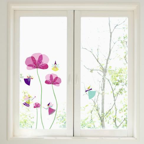 Little Fairies Window Decal Sticker Window Decal at ...