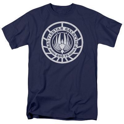Battle Star Galactica-Scratched BSG Logo