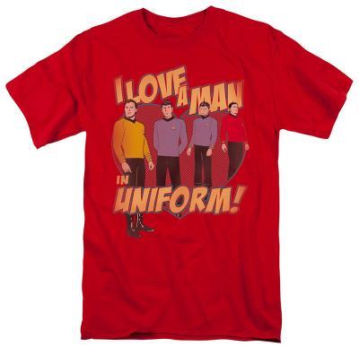 Star Trek-Man In Uniform