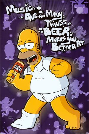 Simpsons - Beer Makes You Better