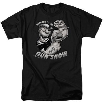 Popeye-Gun Show