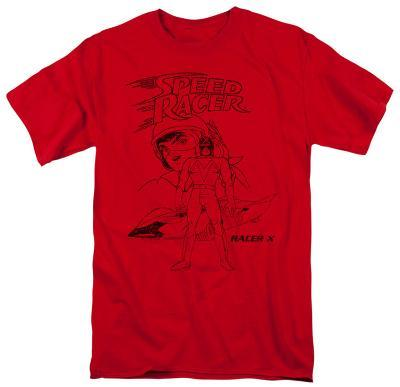 Speed Racer-Racer X Distressed