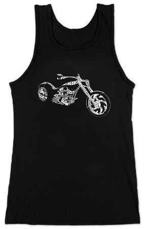 Women's: Tank Top - Motorcycle