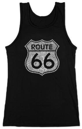 Women's: Tank Top - Route 66