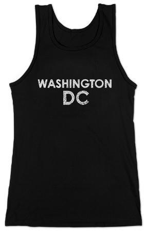 Women's: Tank Top - Washington DC Neighborhoods