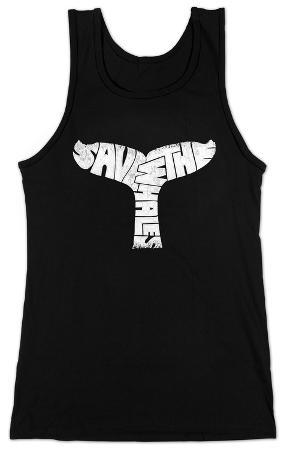 Women's: Tank Top - Save The Whales