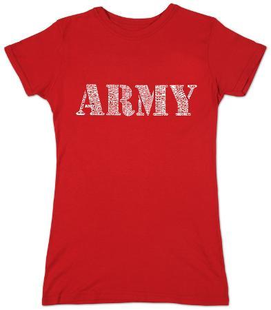 Women's: Lyrics To The Army Song