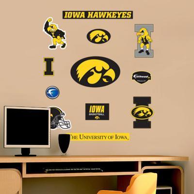 Iowa - Fathead Junior Logosheet