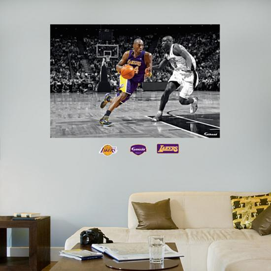 Kobe Bryant Mural Wall Decal at AllPosters.com