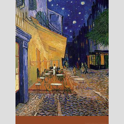 Café-Terrace at Night