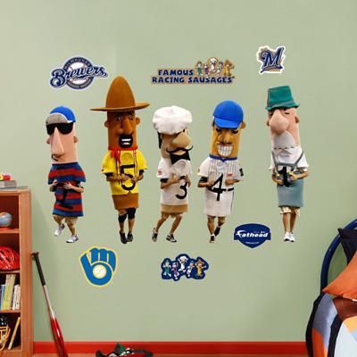 Sausage Race Brewers Mascot