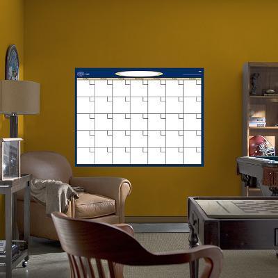 Dry Erase Blank Month Calendar