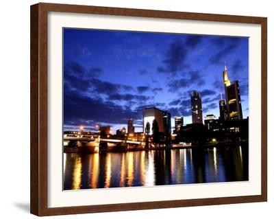 The Skyline of Frankfurt/Main, Germany