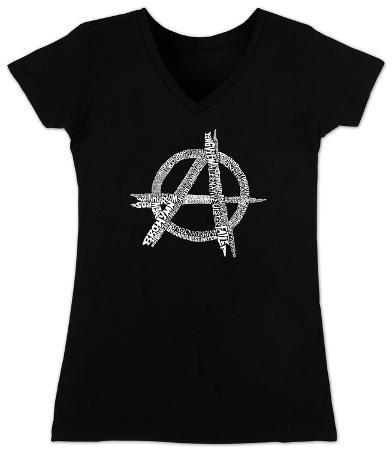 Women's: V-Neck- Great All Time Punk Songs