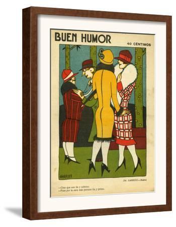 Buen Humor, Magazine Cover, Spain, 1926