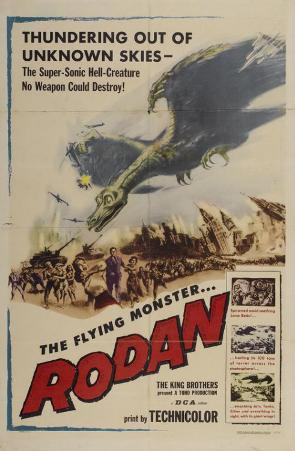 Rodan The Flying Monster