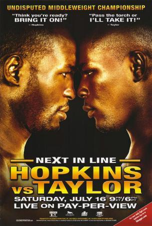Bernard Hopkins vs. Jermain Taylor