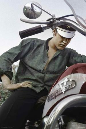 Elvis Presley-Motorcycle