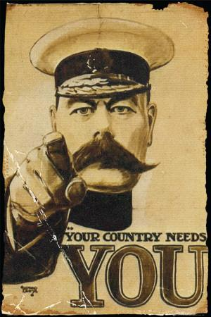 Lord Kitchener - Your Country Needs You