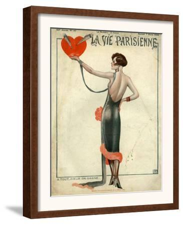 La Vie Parisienne, Magazine Cover, France, 1925