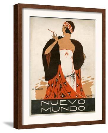 Nuevo Mundo, Magazine Cover, Spain, 1923