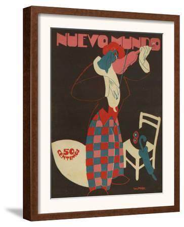 Nuevo Mundo, Magazine Cover, Spain, 1924