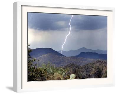 Lightning Strikes in the High Desert North of Phoenix, Ariz.