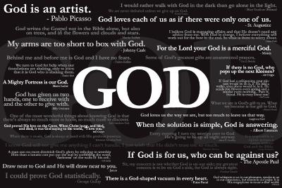 God Quotes Posters At Allposterscom
