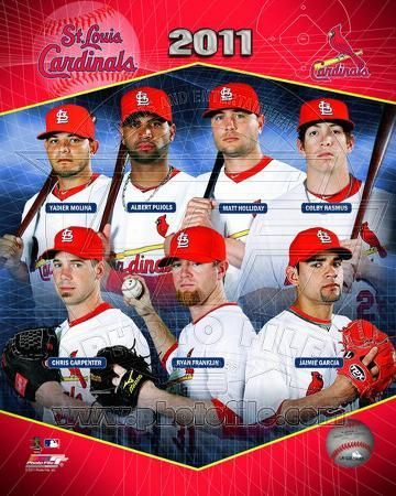 St. Louis Cardinals 2011 Team Composite