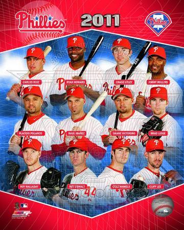 Philadelphia Phillies 2011 Team Composite