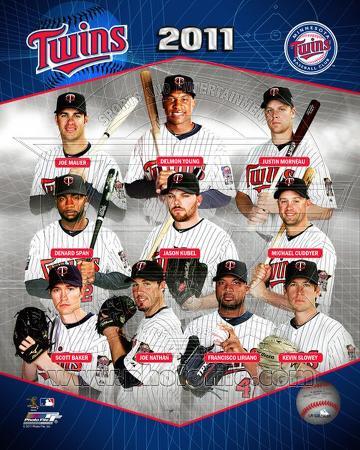 Minnesota Twins 2011 Team Composite