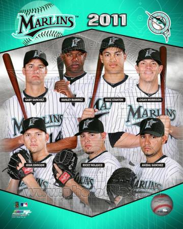 Florida Marlins 2011 Team Composite