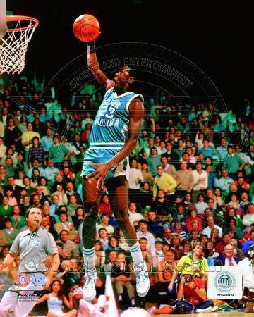 NBA Michael Jordan University of North Carolina Tar Heels 1981 Action