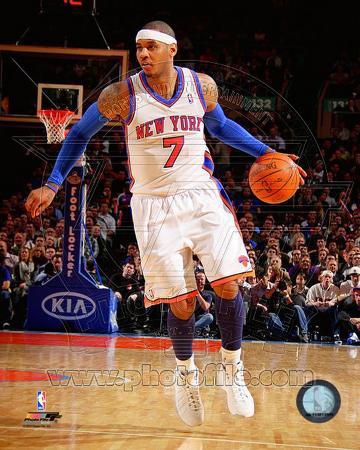 NBA Carmelo Anthony 2010-11 Action