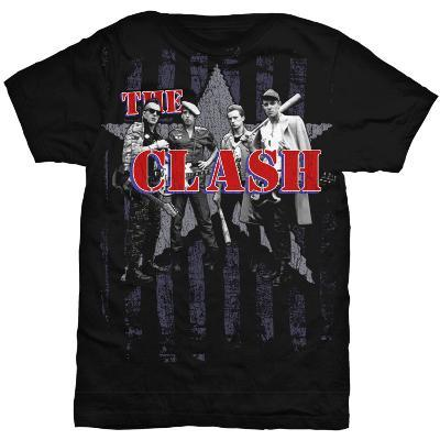 The Clash - Stripes and Star